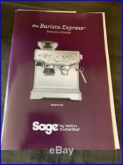SAGE The Barista Express Espresso Coffee Machine with Integrated Burr