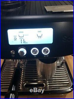 SAGE the Barista Pro 1680W 15 Bar Espresso Coffee Machine Black Collection