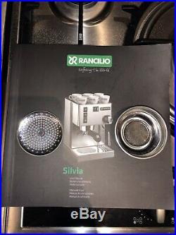 SUPERB Rancilio Miss Silvia V3 Portafilter Coffee Machine Espresso 2013