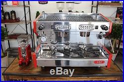 SV Italia SAB Prestige Commercial Espresso Machine & Nuova Simonelli MCF Grind