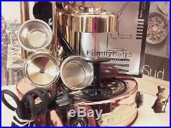 SX Elektra semiautomatic Micro casa espresso coffee machine espresso full acc