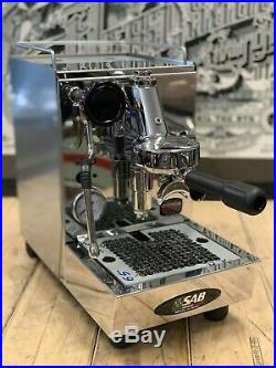 Sab Alice 1 Group Brand New Stainless Espresso Coffee Machine Commercial Cafe