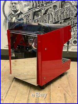 Sab Nobel 1 Group Red Espresso Coffee Machine Commercial Cafe Home Office Tank