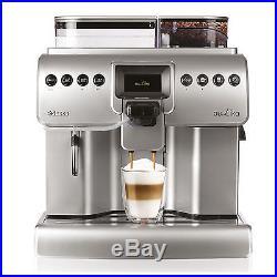 Saeco Aulika FOCUS Fully Automatic Espresso COFFEE Machine SILVER