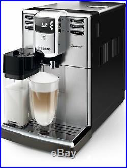 Saeco HD8917 / 01 Incanto coffee espresso super automatic machine silver