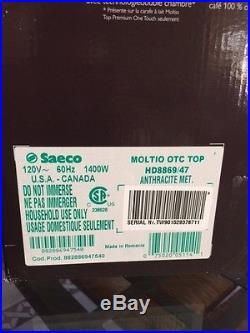Saeco MOLTIO HD8869/47 SUPER automatic cappuccino Espresso coffee machine