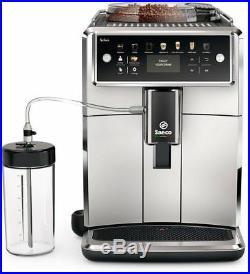 Saeco SM7581 / 00 XELSIS coffee espresso super automatic machine silver black