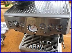 Sage BES870UK The Barista Express Espresso Coffee Machine Silver