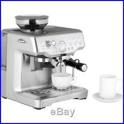 Sage BES875BKS The Barista Express Espresso Coffee Machine 15 bar Black New