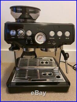 Sage Barista Espress bean-to-cup coffee machine, Black