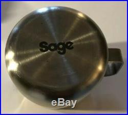 Sage Barista Espresso Coffee Machine c/w Grinder BES870BSUK 15 bar Used GWC