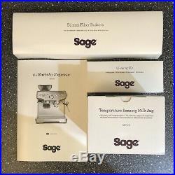 Sage Barista Express BES875BKS Espresso Coffee Machine