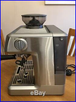 Sage Barista Express Bean 2 Cup Espresso Coffee Machine, Stainless USED ONCE