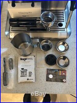 Sage Barista Express Bean To Cup Coffee Machine Heston Blumenthal