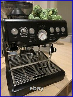 Sage Barista Express Bean-to-Cup Coffee Machine Black SES875BTR