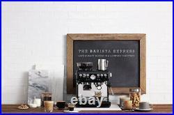 Sage Barista Express Black Sesame Coffee Machine