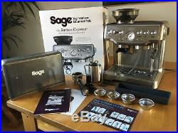 Sage Barista Express Coffee Machine Bean To Cup With Integrated Grinder & Steam