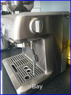 Sage Barista Express Espresso Maker Coffee Machine BES875UK Silver