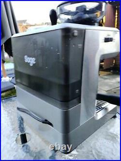 Sage Barista Express Espresso Maker Coffee Machine BES875UK Silver