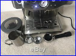 Sage Barista Express Espresso Maker Coffee Machine BES875UK Silver DCL02