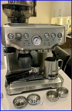 Sage Barista Express Espresso Maker Coffee Machine Silver