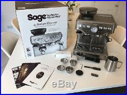 Sage Barista Express Espresso Maker Coffee Machine Silver RRP £550