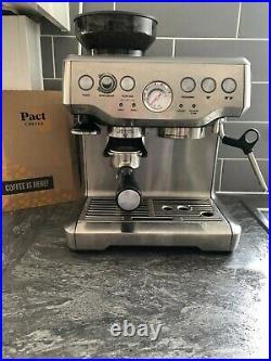 Sage Barista Express bean-to-cup coffee machine
