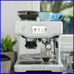 Sage Barista Touch Bean to Cup Espresso Coffee Machine Sea Salt White SES880SST