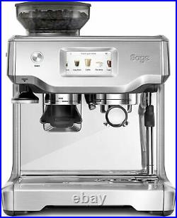 Sage Barista Touch Bean to Cup Espresso Coffee Machine Stainless Steel SES880BSS