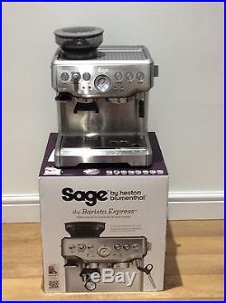 Sage By Heston Blumenthal Barista Coffee Espresso Latte Machine