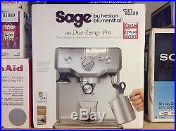 Sage By Heston Blumenthal Duo Temp BES810BSSUK Espresso Coffee Machine #83589