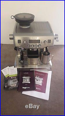 Sage By Heston Blumenthal The Oracle Espresso Coffee Machine, Silver