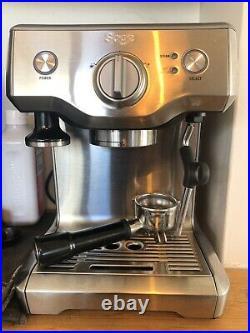 Sage Coffee Machine Duo Temp Pro Silver