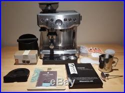 Sage Heston Blumenthal BES870UK Barista Express Espresso Coffee Machine Bundle