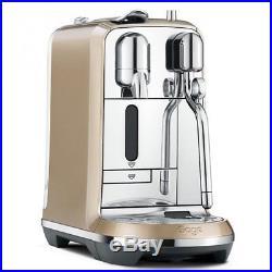Sage Nespresso Creatista Coffee Maker Espresso Machine 19 Bar BNE600 Champagne