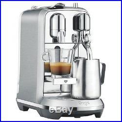 Sage Nespresso Creatista Plus Pod Espresso Coffee Maker Machine 19 Bar Stainless