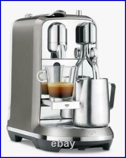 Sage Nespresso Creatista Plus SNE800SHY Coffee Machine Maker Smoked Hickory