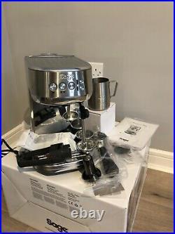 Sage The Bambino Plus Coffee Machine Stainless Steel-Still Under Warranty