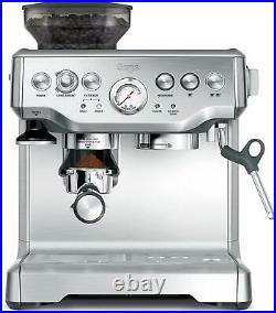 Sage The Barista Express BES875UK Bean to Cup Coffee Machine Silver Kitchen