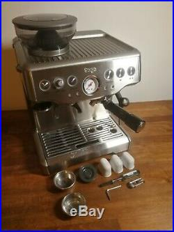 Sage The Barista Express BES875UK Espresso Coffee Machine Integrate Burr Grinder