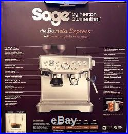 Sage The Barista Express Espresso Coffee Maker Machine BES870UK Black RRP £599