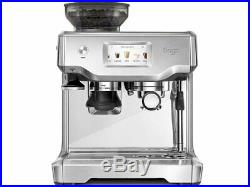 Sage The Barista Touch Coffee Espresso Maker Machine Silver BES880 RRP £999/