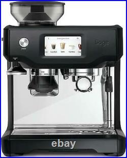 Sage The Barista Touch SES880BTR Coffee Espresso Machine Black Truffle Kitchen