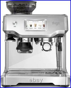 Sage The Barista Touch SES880 Coffee Espresso Maker Machine Silver/Black Kitchen