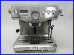Sage The Dual Boiler Coffee Espresso Machine Maker Silver BES920UK RRP £1200 //