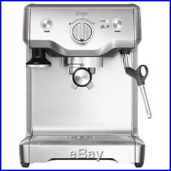 Sage The Duo Temp Pro Coffee Espresso Maker Machine BES810UK Silver RRP £379