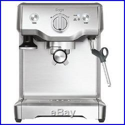 Sage The Duo Temp Pro Coffee Espresso Maker Machine Silver BES810UK RRP £379