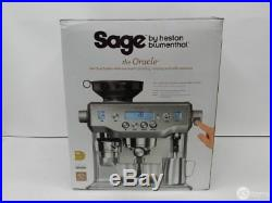 Sage The Oracle Espresso Coffee Maker Machine Silver BES980UK RRP £1700
