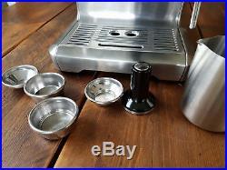 Sage The duo temp profes coffee late espresso machine silver