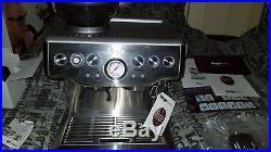 Sage barista express Coffee & Espresso machine Silver